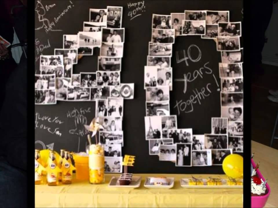 Best ideas about 40th Birthday Party Decorations Ideas . Save or Pin 40th birthday party ideas supplies themes decorations Now.