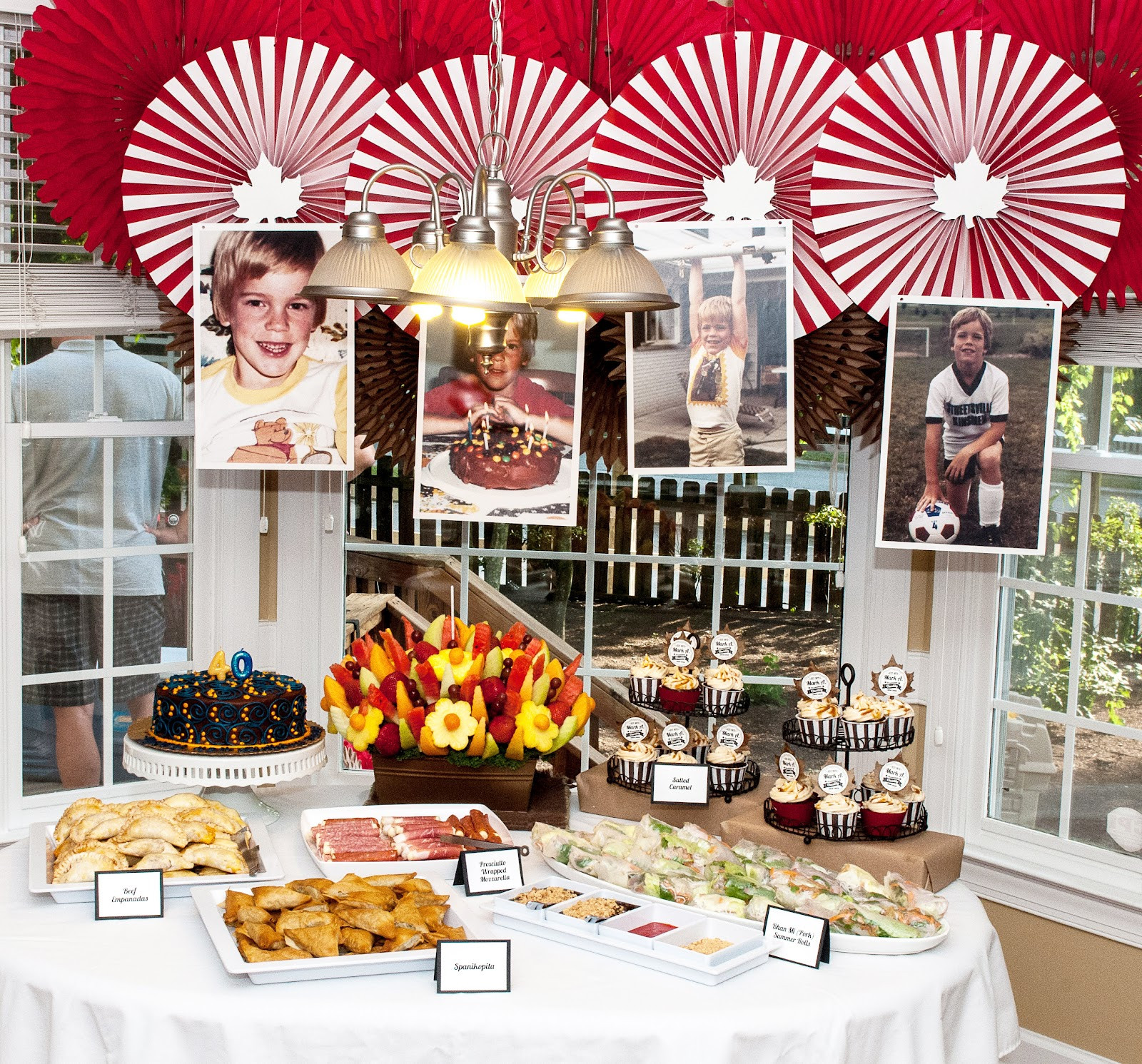 Best ideas about 40th Birthday Party Ideas . Save or Pin Stamp Camp 40th Birthday by Mae Armstrong Now.