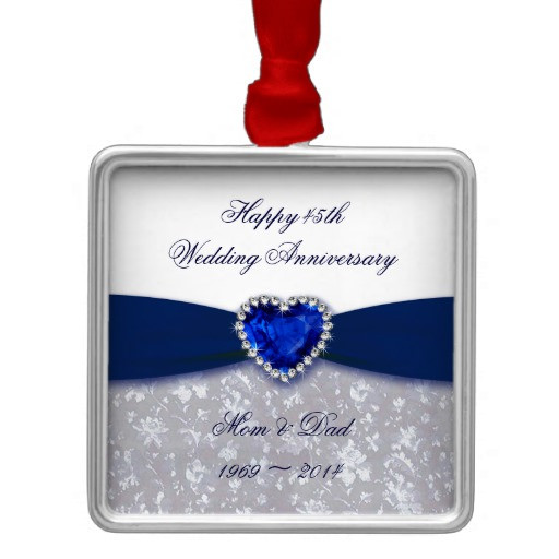 Best ideas about 45Th Wedding Anniversary Gift Ideas . Save or Pin 45th Anniversary Gifts T Shirts Art Posters & Other Now.