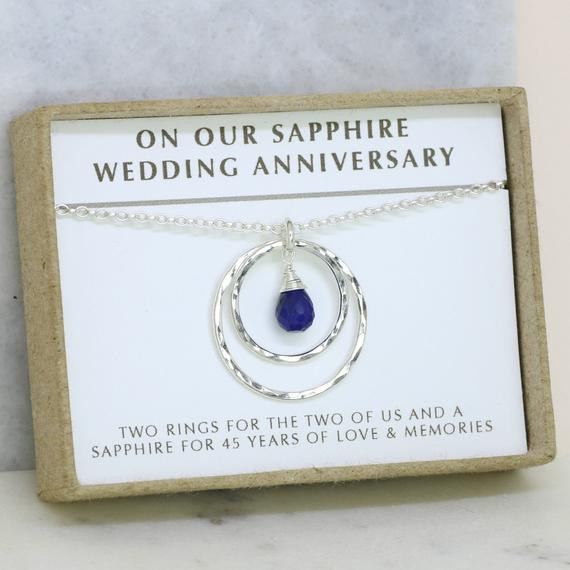 Best ideas about 45Th Wedding Anniversary Gift Ideas . Save or Pin 45th anniversary t 45th wedding anniversary t Now.