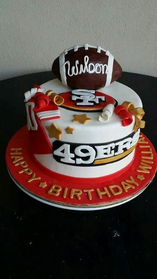 Best ideas about 49ers Birthday Cake . Save or Pin 25 best ideas about 49ers Cake on Pinterest Now.