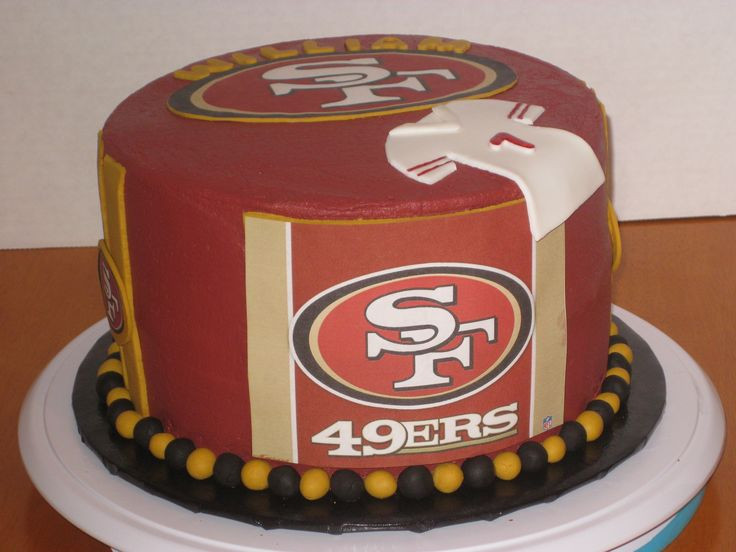 Best ideas about 49ers Birthday Cake . Save or Pin 249 best 49ers♥ images on Pinterest Now.