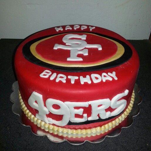 Best ideas about 49ers Birthday Cake . Save or Pin 49ers cake by Soveida Estrada Alvarez Cakes Now.