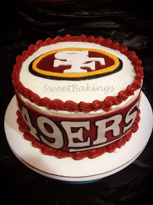 Best ideas about 49ers Birthday Cake . Save or Pin 49ers Cake Cake by Priscilla CakesDecor Now.