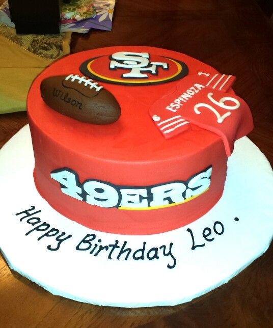 Best ideas about 49ers Birthday Cake . Save or Pin Best 25 49ers birthday party ideas on Pinterest Now.