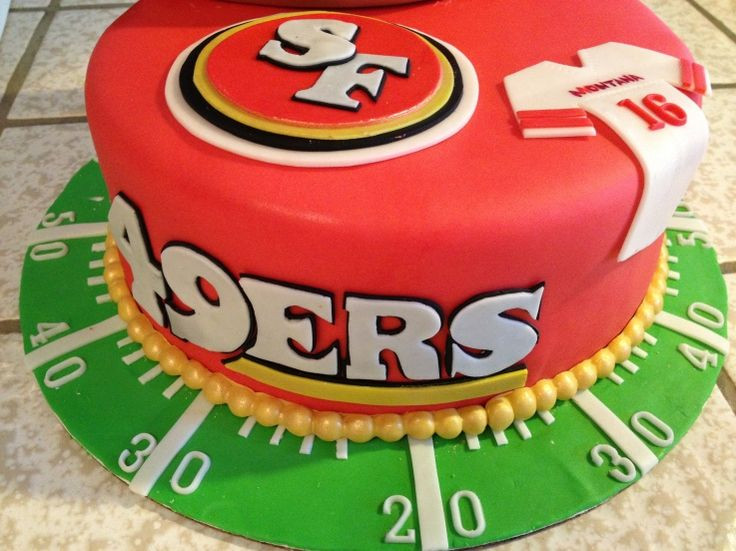 Best ideas about 49ers Birthday Cake . Save or Pin 1000 ideas about 49ers Cake on Pinterest Now.