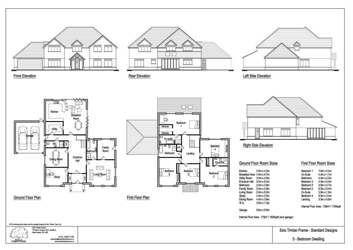 Best ideas about 5 Bedroom House Plans . Save or Pin Vachery 5 Bedroom House Design Designs Solo Timber Frame Now.