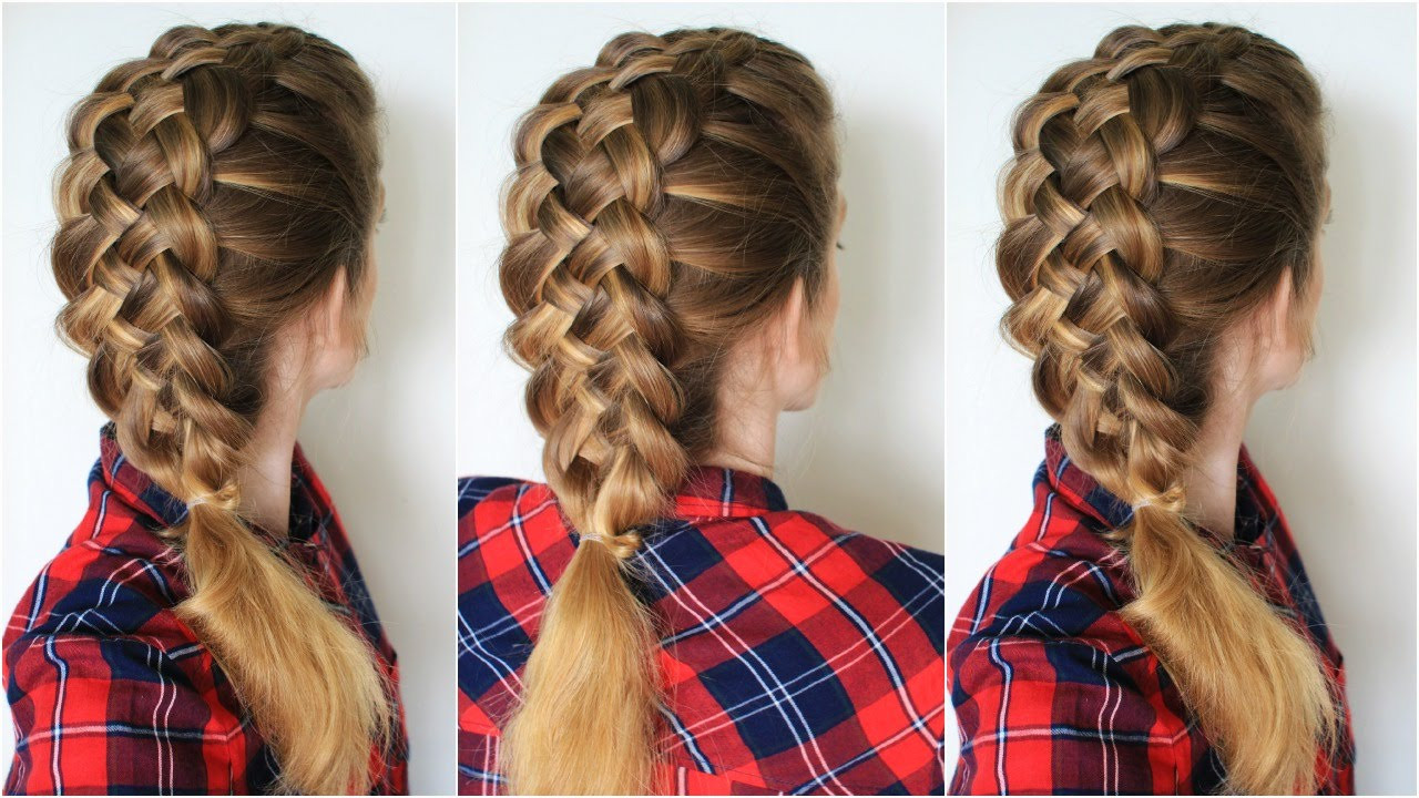 Best ideas about 5 Braids Hairstyle . Save or Pin How to Braid 5 Strand Braid Step by Step Now.