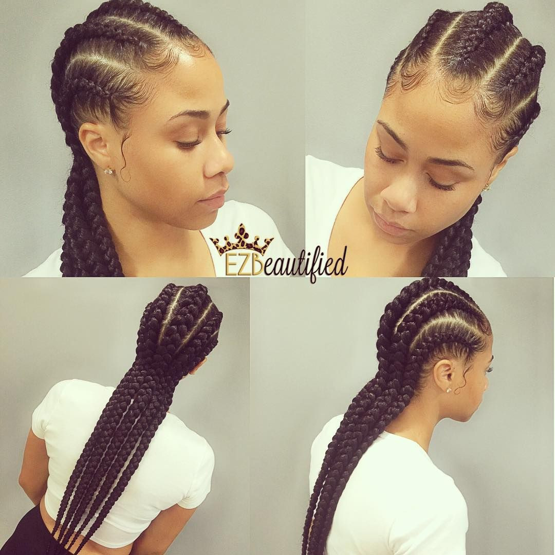 """Best ideas about 5 Braids Hairstyle . Save or Pin """"5 GORG NATURALLY ROOTED Waist length banana braids for Now."""