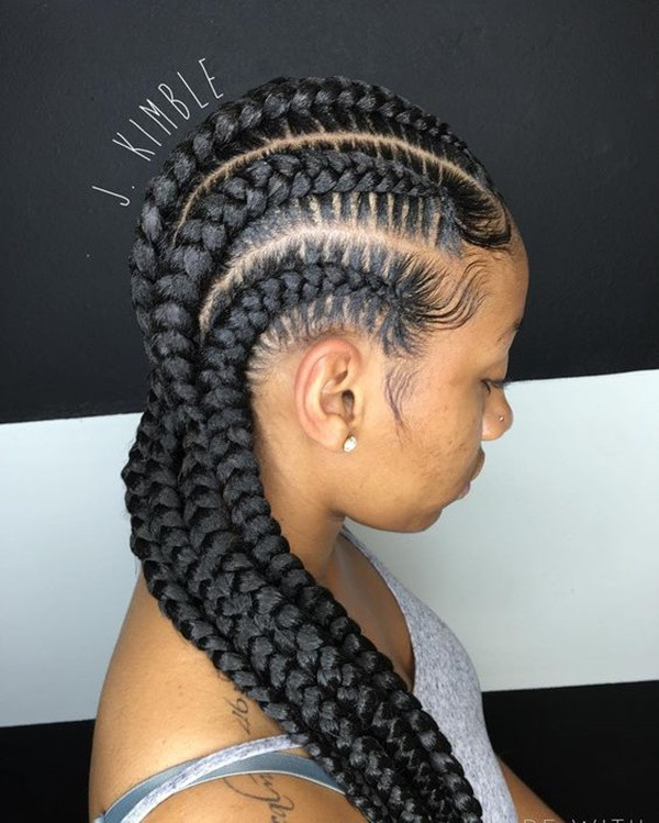 Best ideas about 5 Braids Hairstyle . Save or Pin 125 Popular Feed in Braid Hairstyles [with Tutorial] Now.
