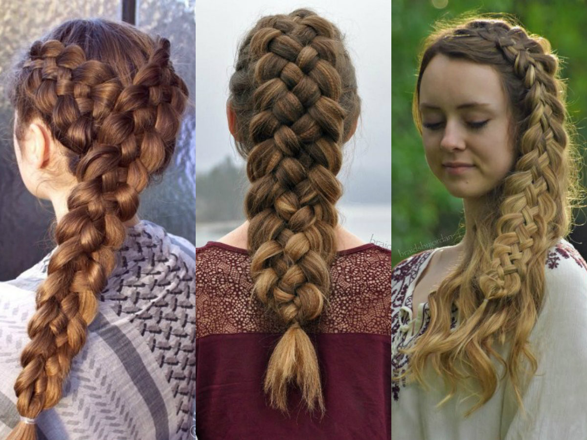 Best ideas about 5 Braids Hairstyle . Save or Pin Adorable 5 Strand Braid Hairstyles In Easy Way Now.