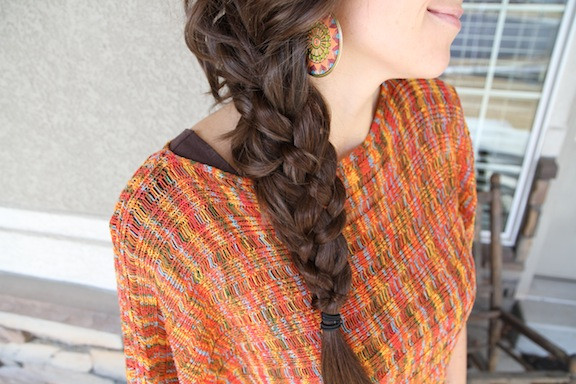 Best ideas about 5 Braids Hairstyle . Save or Pin Five 5 Strand Messy Braid Top Hairstyles Now.