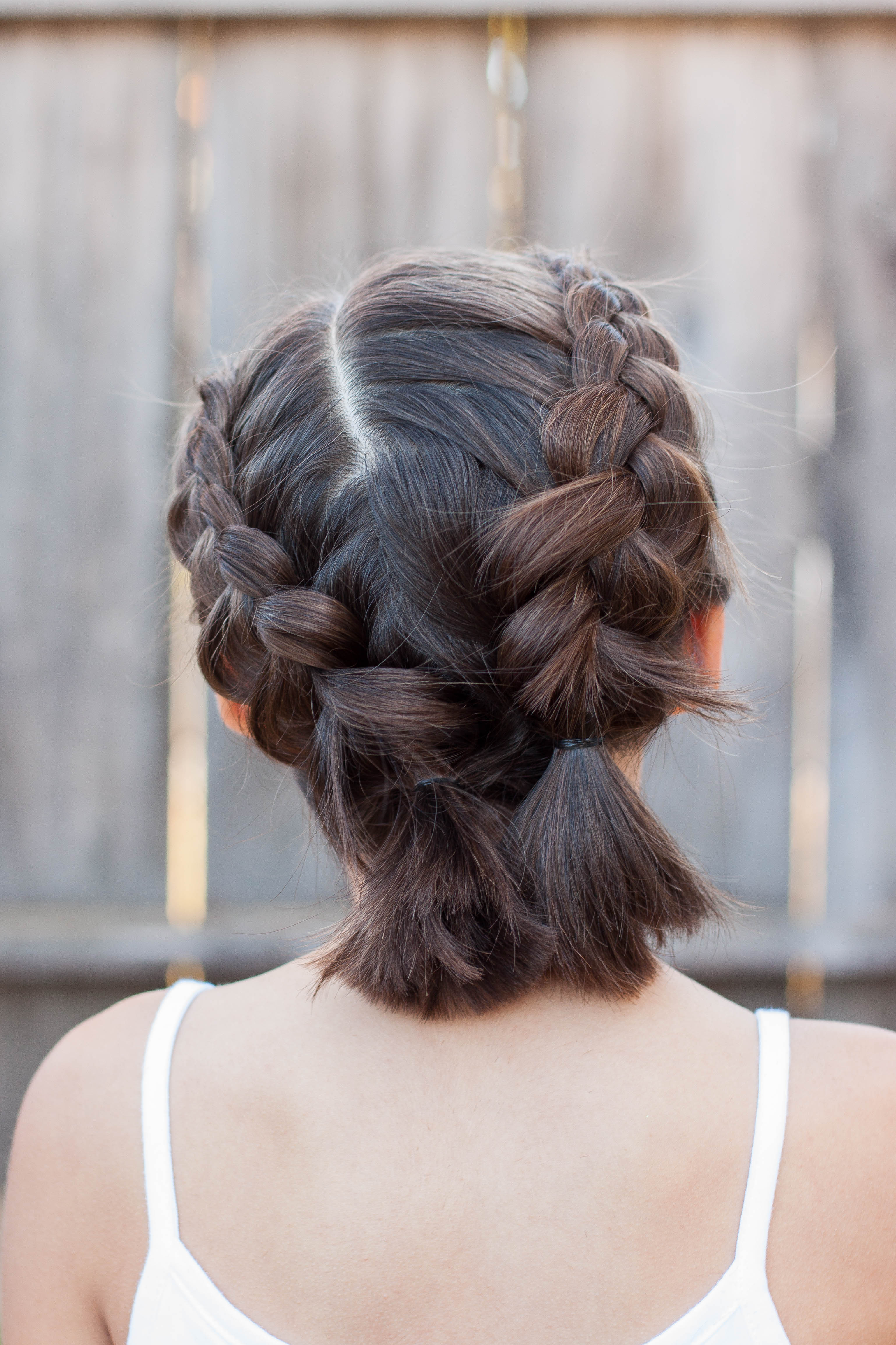 Best ideas about 5 Braids Hairstyle . Save or Pin 5 Braids for Short Hair Now.