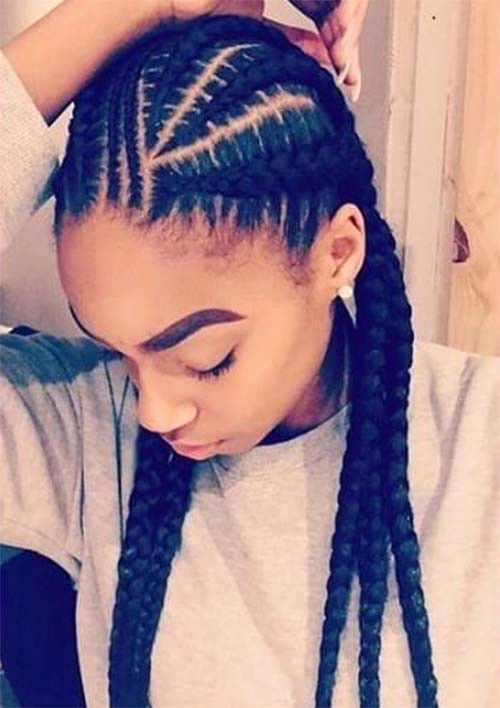 Best ideas about 5 Braids Hairstyle . Save or Pin 53 Goddess Braids Hairstyles Tips on Getting Goddess Now.