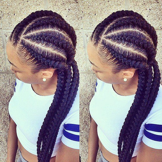 Best ideas about 5 Braids Hairstyle . Save or Pin 5 Protective Style African Hair Braiding To Turn Heads Now.