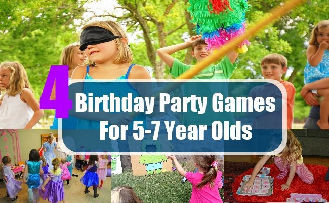 Best ideas about 5 Year Old Birthday Party Places . Save or Pin Birthday Party Games For 5 7 Year Olds Birthday Game Now.