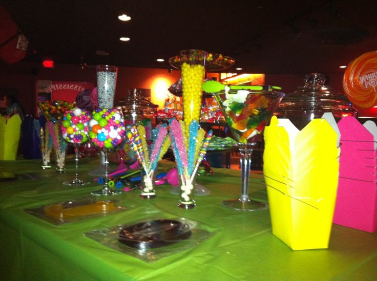 Best ideas about 5 Year Old Birthday Party Places . Save or Pin Candy Bar for 13 year old birthday party Now.