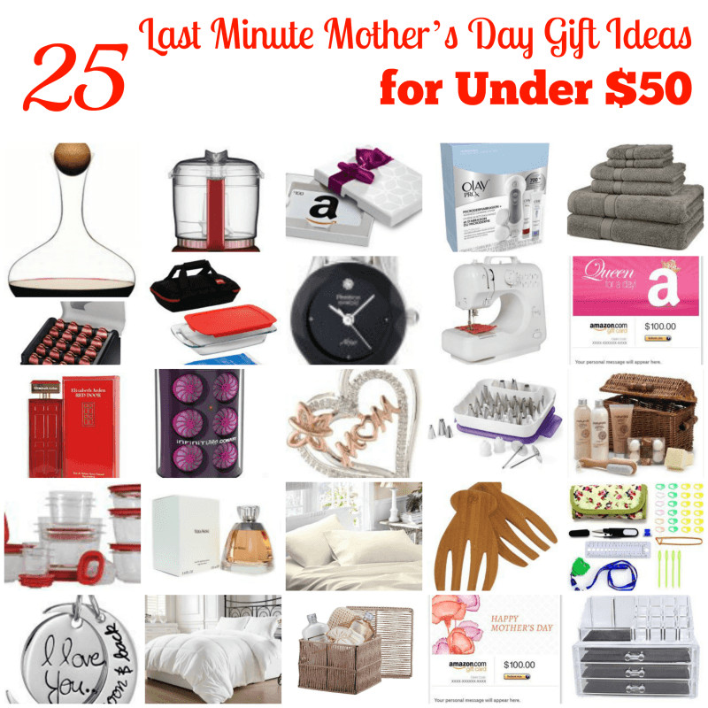 Best ideas about 50 Dollar Gift Ideas . Save or Pin 25 Gift Ideas Under 50 Dollars For Mom Now.
