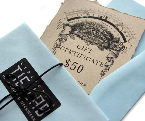 Best ideas about 50 Dollar Gift Ideas . Save or Pin 50 dollar t certificate Gift card for Cyberoptix neckties Now.
