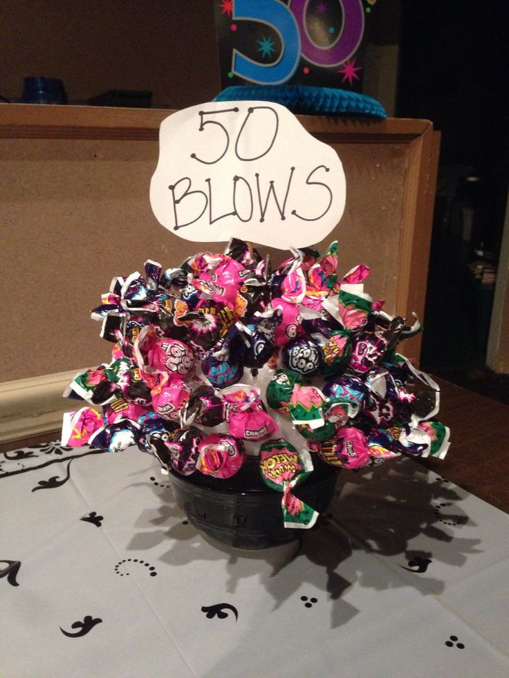Best ideas about 50 Year Birthday Gifts . Save or Pin 50 Blows bouquet for a 50th birthday party t Now.