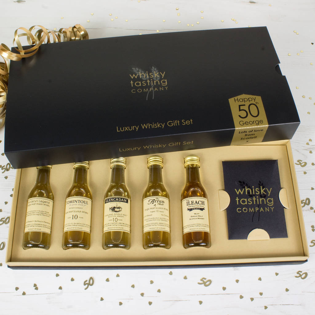 Best ideas about 50 Year Old Birthday Gifts . Save or Pin 40 50 year old birthday whisky t set by whisky Now.