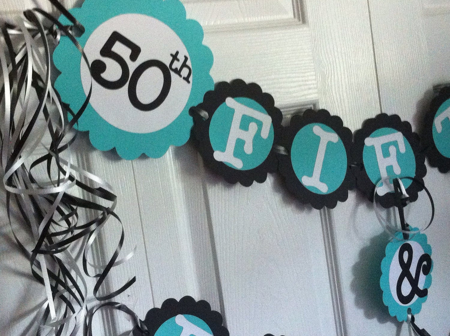 Best ideas about 50th Birthday Decorations For Him . Save or Pin 50th Birthday Decorations Party Banner 50 & Fabulous Now.