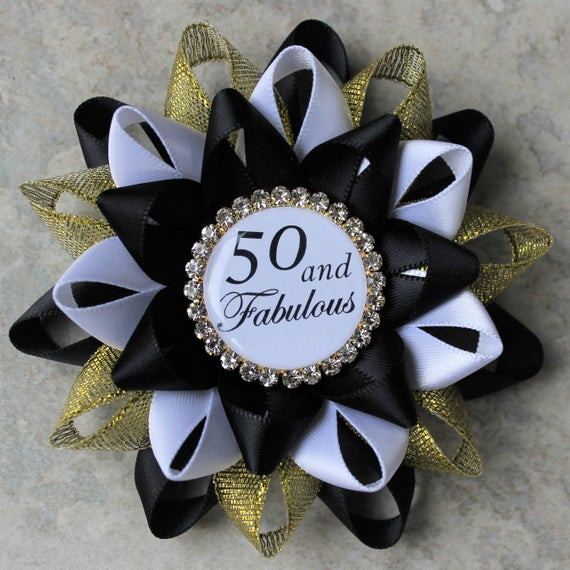 Best ideas about 50th Birthday Decorations For Him . Save or Pin 50th Birthday Pin 50 and Fabulous Pin 50th Birthday Party Now.