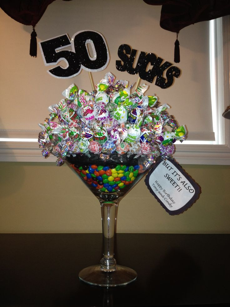 Best ideas about 50th Birthday Decorations For Him . Save or Pin 94 best images about 50th Birthday Party Favors and Ideas Now.