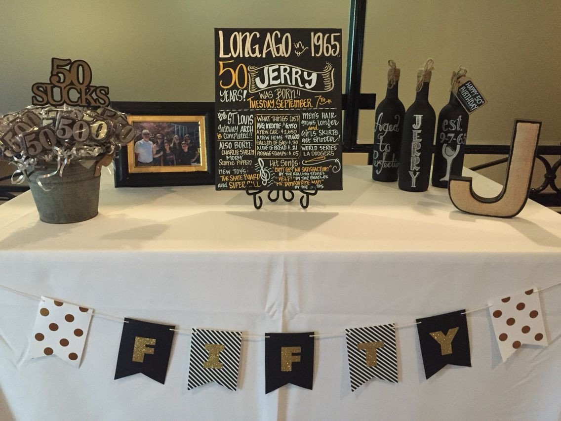 Best ideas about 50th Birthday Decorations For Him . Save or Pin Image result for rustic 50th birthday party ideas for men Now.