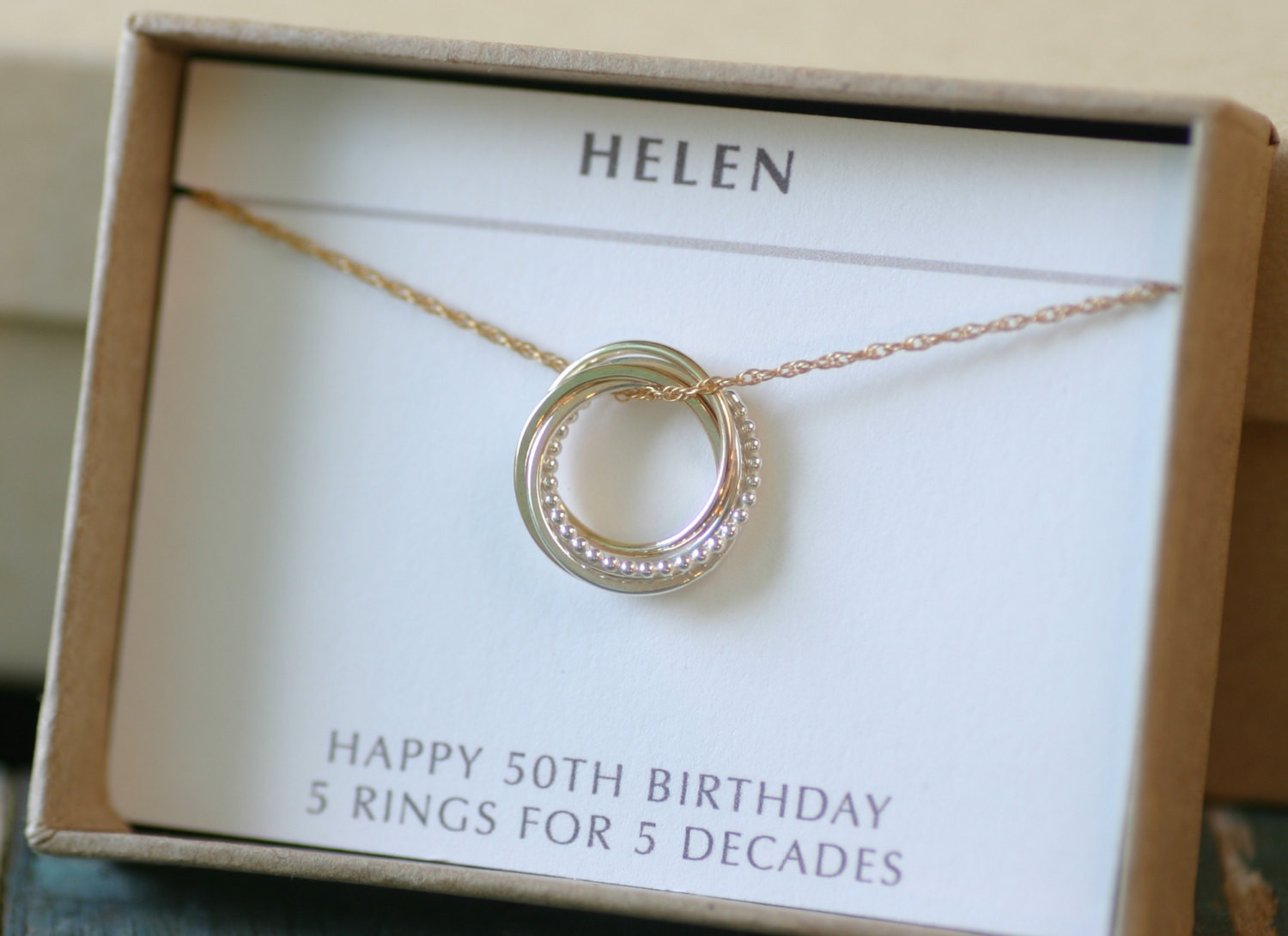 Best ideas about 50Th Birthday Gift Ideas For Her . Save or Pin 50th birthday t for sister jewelry 5 best friends Now.