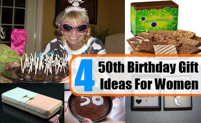 Best ideas about 50Th Birthday Gift Ideas For Her . Save or Pin Four 50th Birthday Gift Ideas For Women Now.