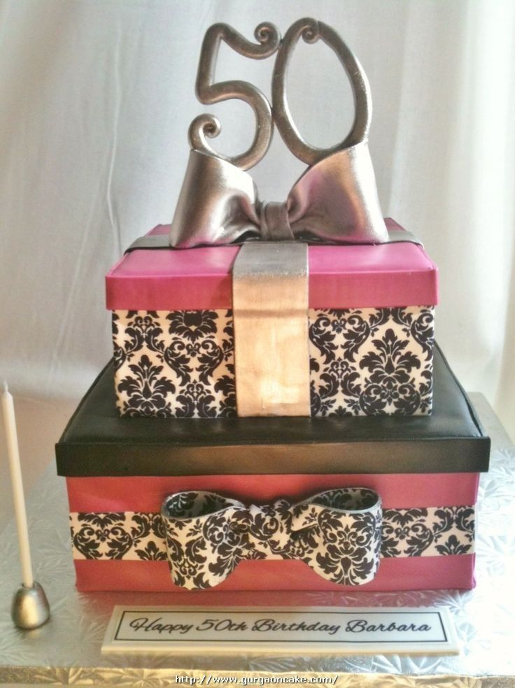 Best ideas about 50Th Birthday Gift Ideas For Her . Save or Pin 1000 ideas about 50th Birthday Cakes on Pinterest Now.