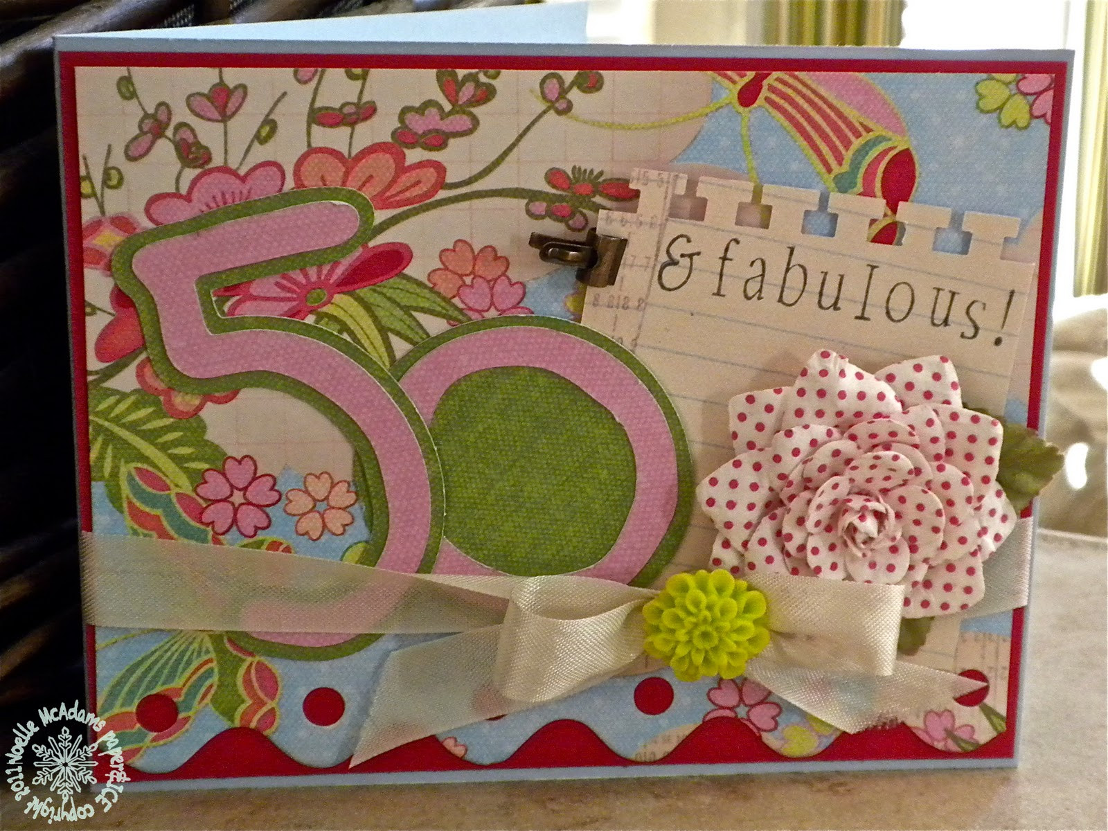 Best ideas about 50Th Birthday Gift Ideas For Her . Save or Pin paper & ICE 50th birthday SURPRISE for my aunt Now.