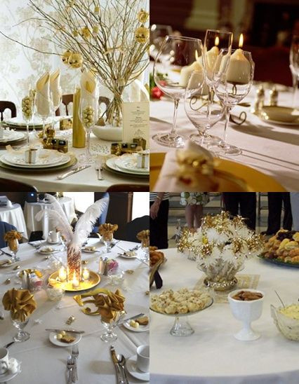Best ideas about 50th Birthday Table Decorations . Save or Pin 50th Wedding Anniversary Table Decorations with Gold and Now.