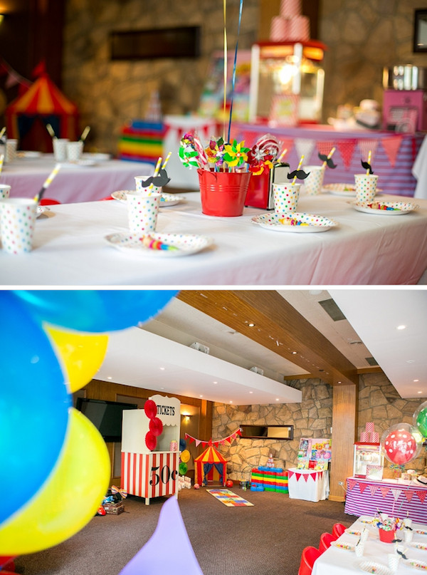 Best ideas about 5th Birthday Party Ideas Girl . Save or Pin Kara s Party Ideas Circus Carnival Boy Girl 5th Birthday Now.