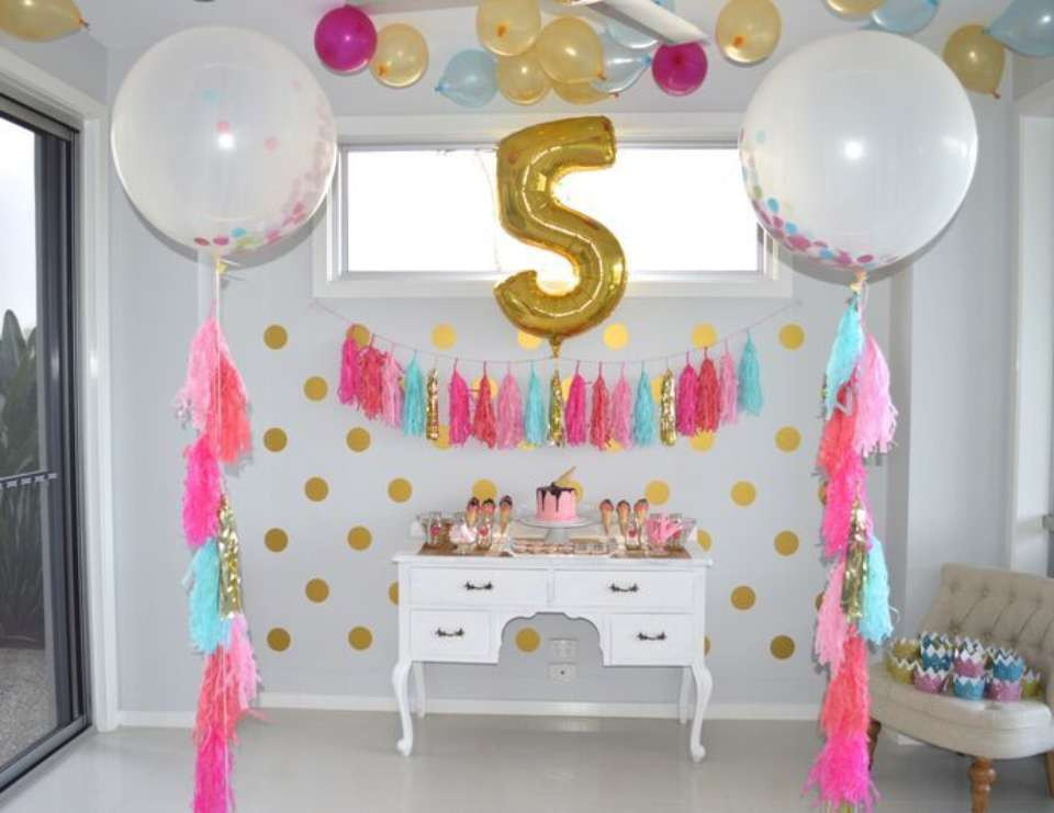 Best ideas about 5th Birthday Party Ideas Girl . Save or Pin Party Ideas Inspirations and Themes Now.