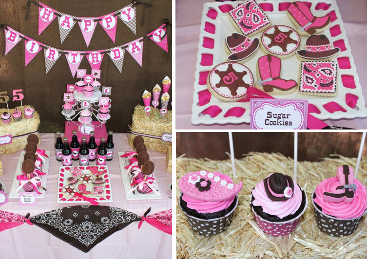 Best ideas about 5th Birthday Party Ideas Girl . Save or Pin Kara s Party Ideas Cowgirl Western Girl 5th Birthday Party Now.