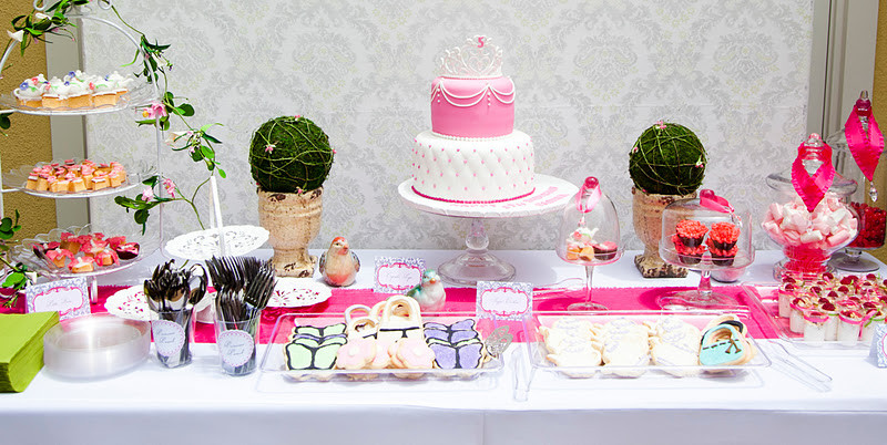 Best ideas about 5th Birthday Party Ideas Girl . Save or Pin Kara s Party Ideas Girls 5th Birthday Princess Tea Party Now.