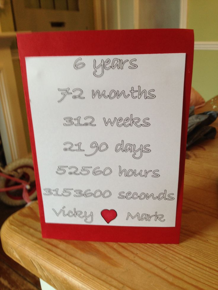 Best ideas about 6 Year Anniversary Gift Ideas . Save or Pin Sixth Wedding Anniversary Gift Ideas For Him Now.