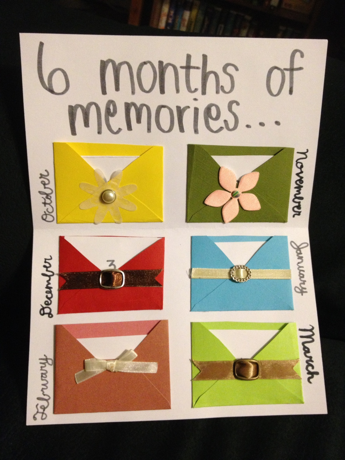 Best ideas about 6 Year Anniversary Gift Ideas . Save or Pin 6 Month Anniversary on Pinterest Now.
