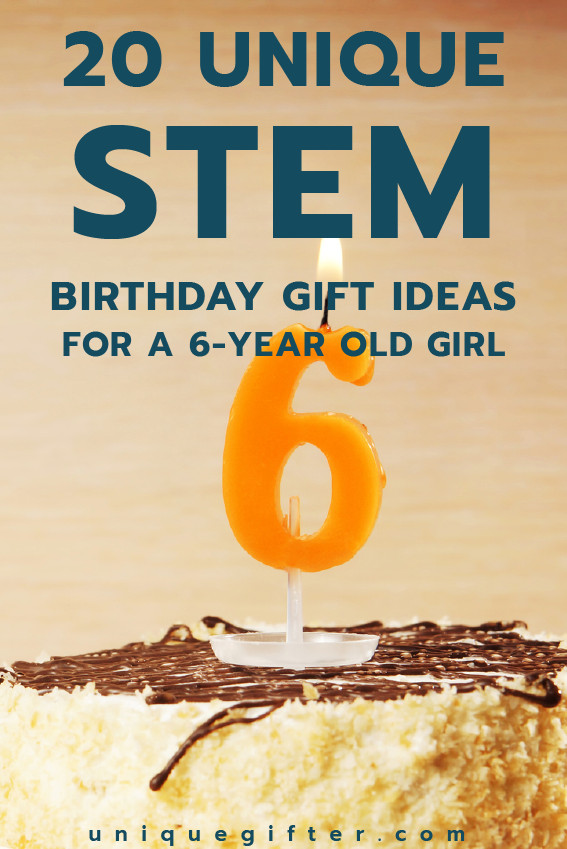 Best ideas about 6 Year Old Birthday Gift Ideas . Save or Pin 20 STEM Birthday Gift Ideas for a 7 Year Old Girl Unique Now.