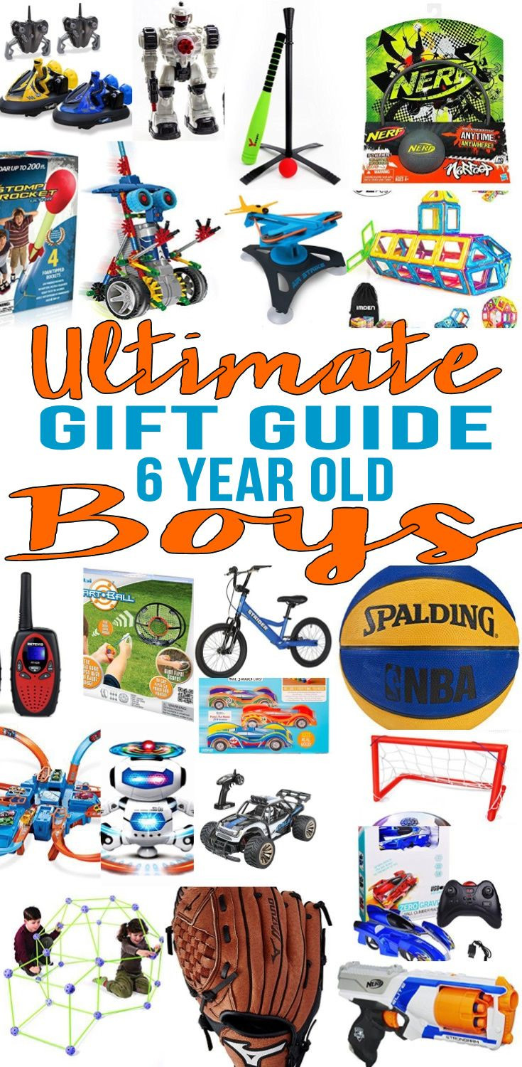 Best ideas about 6 Year Old Birthday Gift Ideas . Save or Pin Top 6 Year Old Boys Gift Ideas Gift Guides Now.