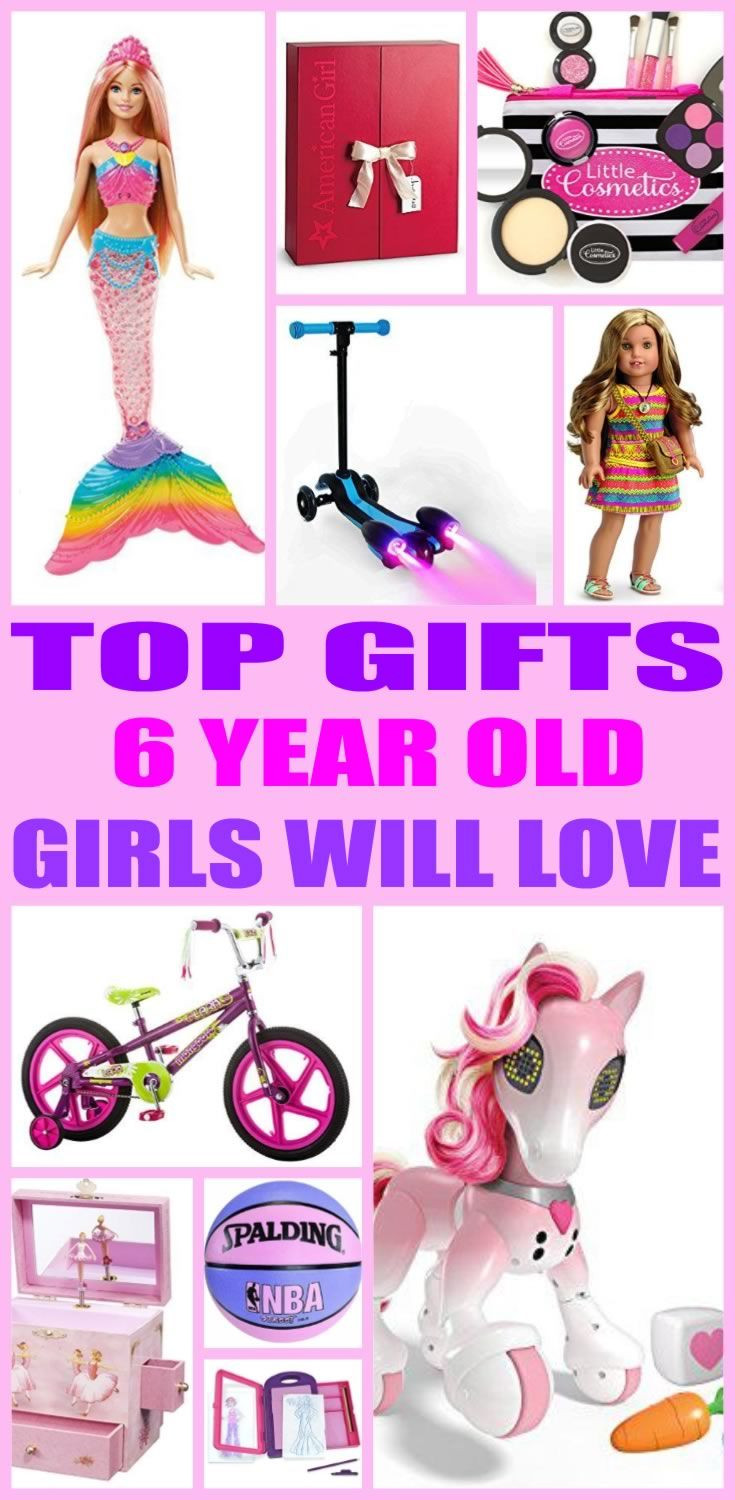 Best ideas about 6 Year Old Birthday Gift Ideas . Save or Pin Top Gifts 6 Year Old Girls Will Love Now.