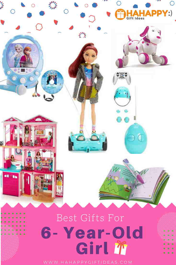 Best ideas about 6 Year Old Birthday Gift Ideas . Save or Pin 12 Best Gifts For A 6 Year Old Girl Fun & Lovely Now.