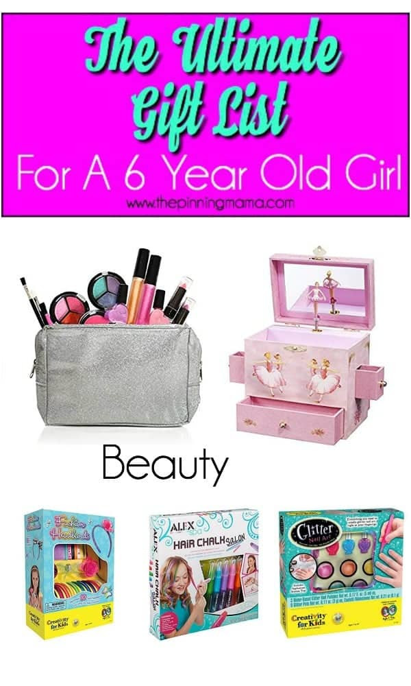 Best ideas about 6 Year Old Gift Ideas . Save or Pin The Ultimate Gift List for a 6 year old Girl • The Pinning Now.