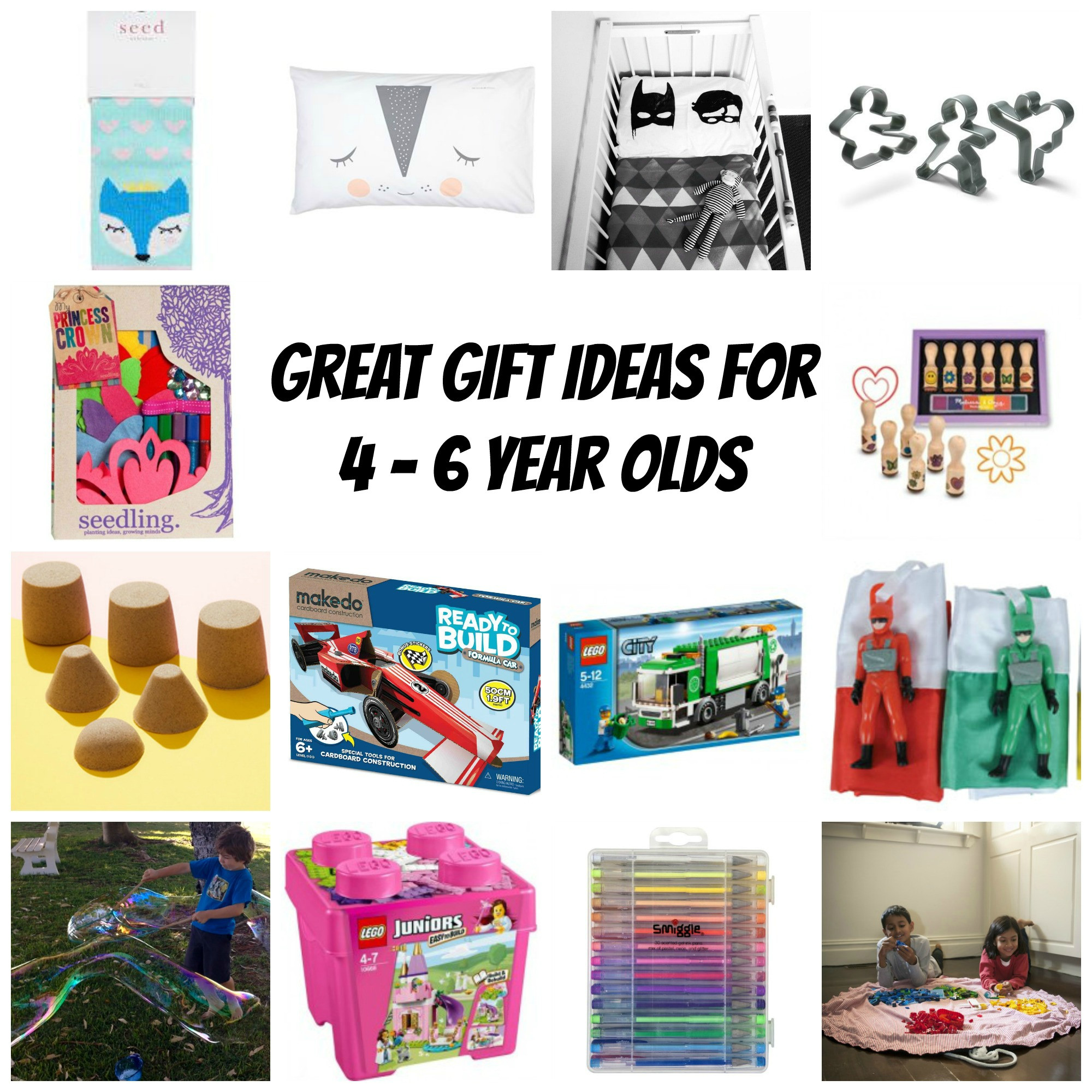 Best ideas about 6 Year Old Gift Ideas . Save or Pin Great t ideas for 4 6 year olds Now.