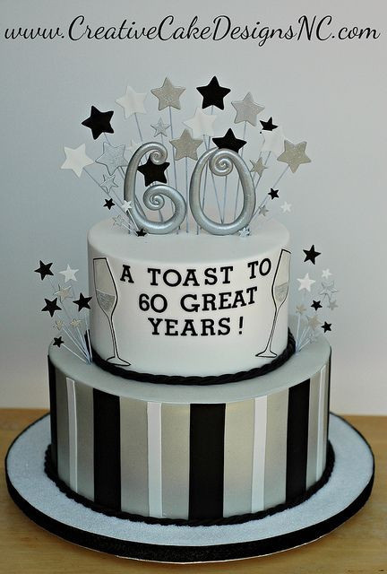 Best ideas about 60th Birthday Cake . Save or Pin 25 best ideas about 60th Birthday Cakes on Pinterest Now.