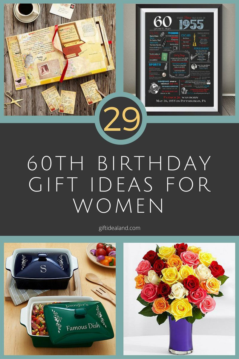Best ideas about 60Th Birthday Gift Ideas For Women . Save or Pin 29 Great 60th Birthday Gift Ideas For Her Now.