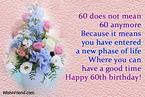 Best ideas about 60th Birthday Wishes For Female Friend . Save or Pin 60th Birthday Wishes Now.