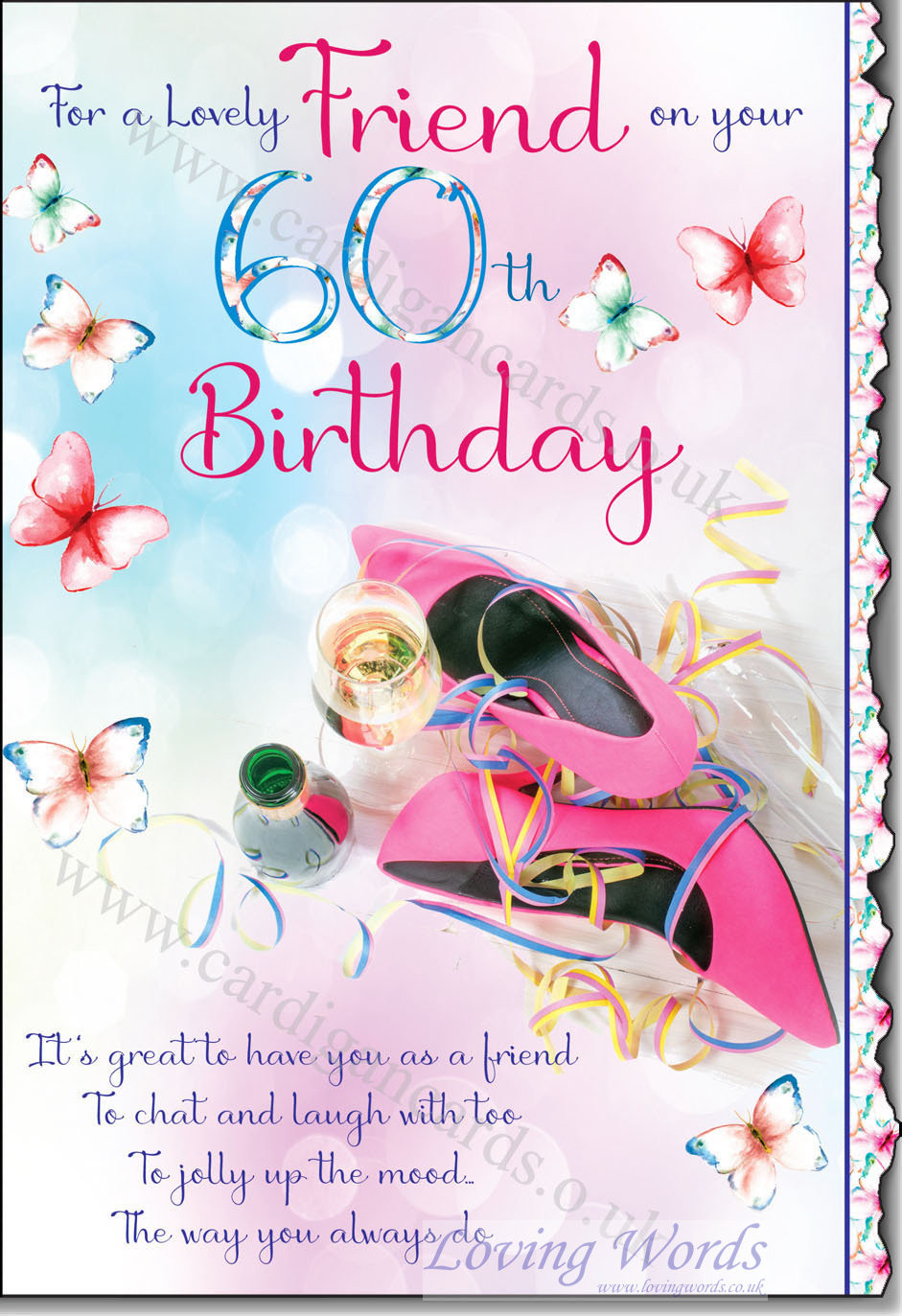 Best ideas about 60th Birthday Wishes For Female Friend . Save or Pin Lovely Friend 60th Birthday Now.